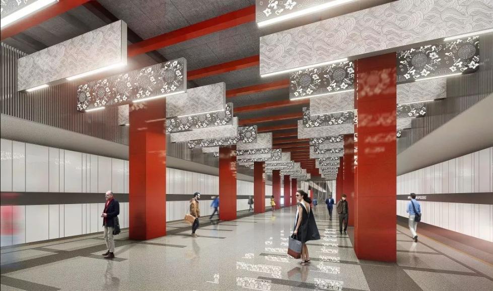 """地铁修到""""老师家"""",莫斯科地铁刮起中国风..."""