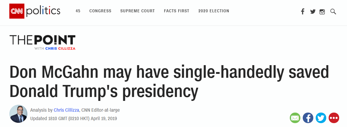 """美媒:前白宫顾问可能""""只手拯救了""""特朗普总统生涯"""