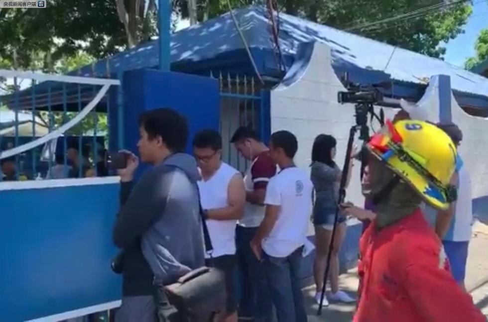菲律宾达沃市警局发生爆炸事故