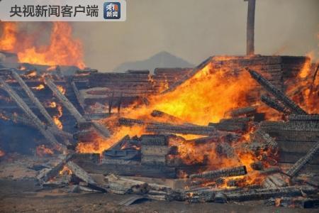 俄西伯利亚地区发生严重森林火灾?150多栋房屋被毁