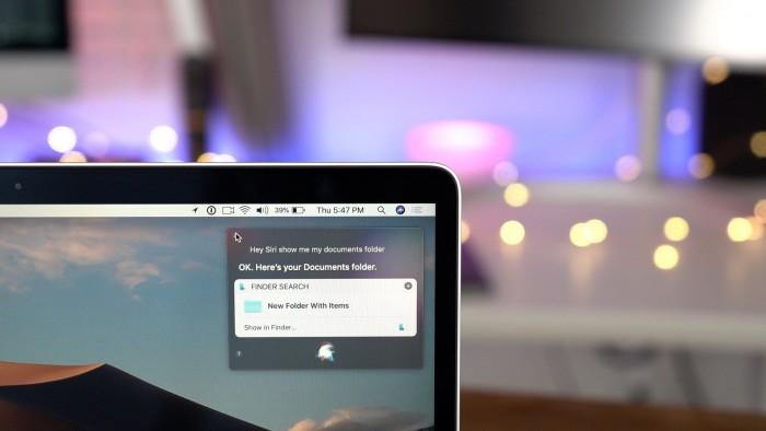 macOS 10.15新功能揭秘:Siri快捷指令