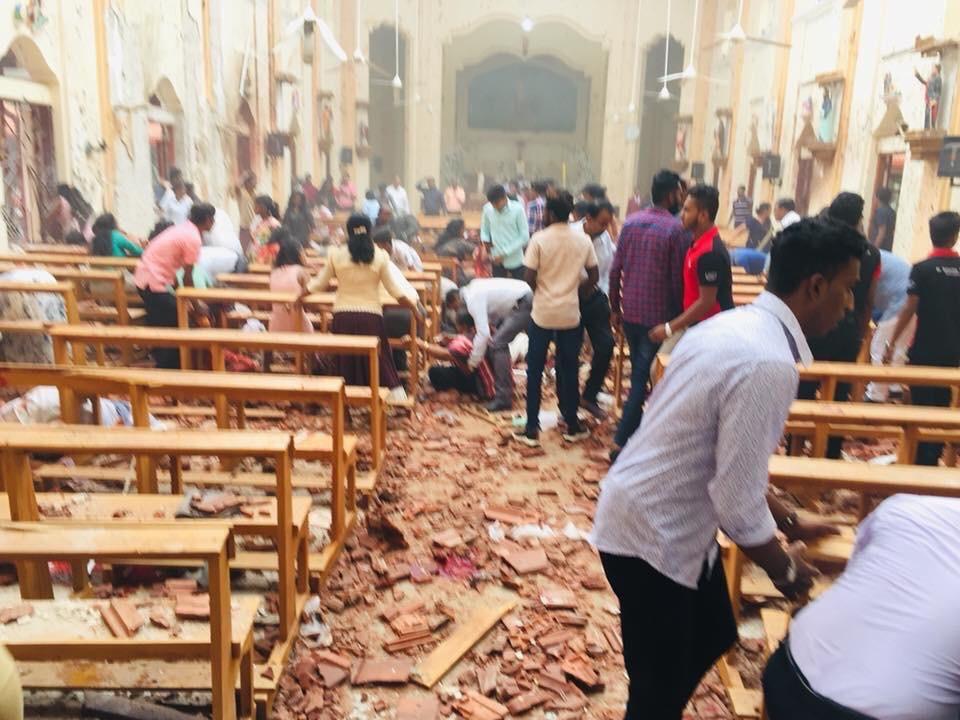 斯里兰卡多座教堂、酒店遭爆炸袭击 至少20人死亡280人受伤