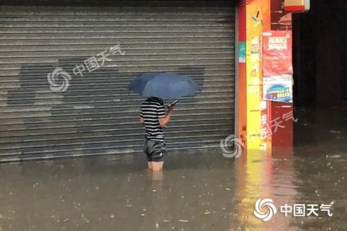 广东持续强降水趋于结束 广州等地仍有大雨局部暴雨