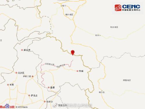 新疆喀什地区叶城县发生3.2级地震 震源深度21千米