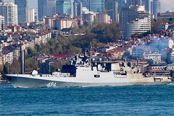 俄罗斯派出最新护卫舰部署地中海 搭载先进导弹