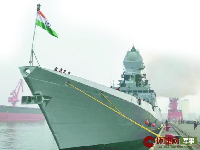 为中国海军庆生 印舰长:我们带来最优秀国产舰艇