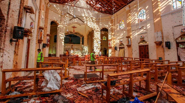 斯里兰卡外交部:36名外国人在爆