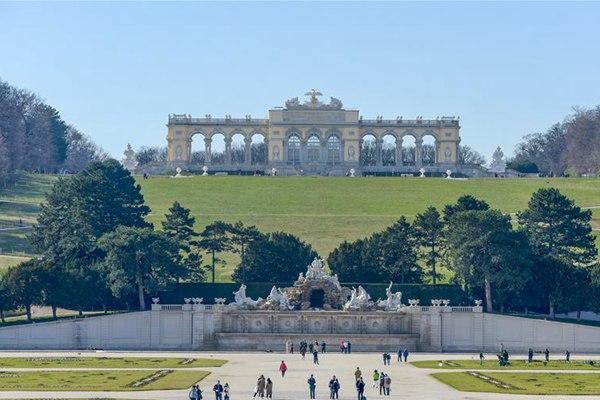 世界园林巡礼——奥地利美泉宫花园