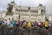 第25届罗马马拉松起跑 10000名选手参赛