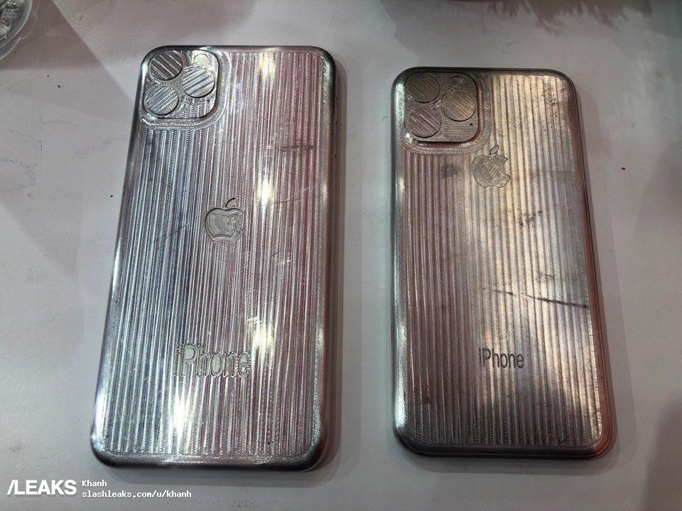 """苹果2019新iPhone模型曝光  """"浴霸""""三摄已确认"""