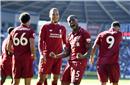 英超综合:利物浦再返榜首 曼联、阿森纳意外落败