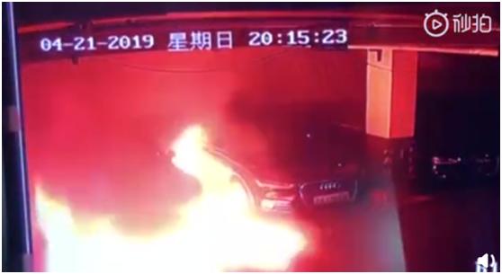 """上海一辆特斯拉""""自燃"""" 此前曾宣布搁置与松下关于电池的产能扩产计划"""