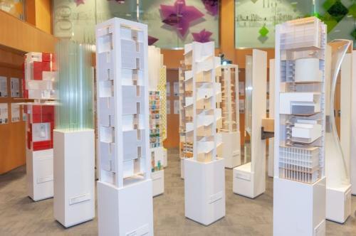 港媒:116座模型呈现香港高密度建筑特色