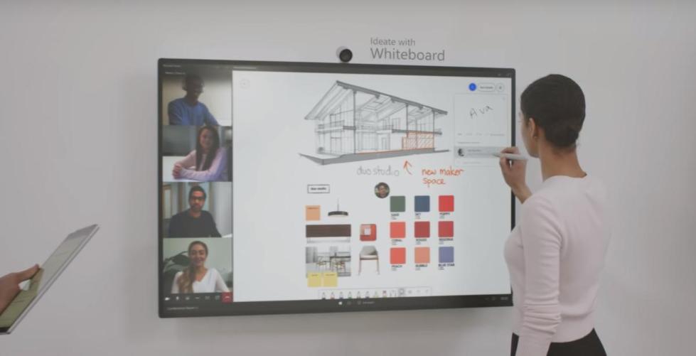 揭秘微软实验室:Surface Hub 2S或改变工作方式