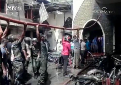 """斯里兰卡总理:爆炸袭击是""""懦夫的行为"""""""