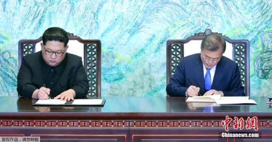 韩媒:韩方27日举行活动 纪念《板门店宣言》一周年