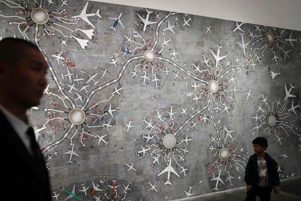 """120余位艺术家作品亮相""""文明:当代生活启示录""""展览"""