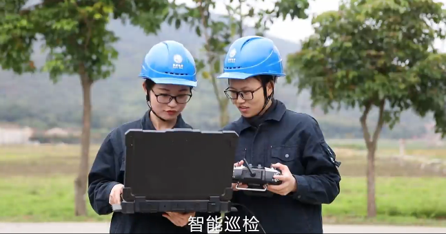 福建漳州电网有支女子无人机队
