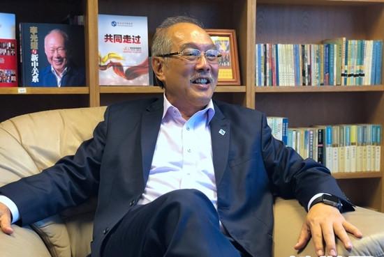 专访新加坡中国商会会长胡进胜