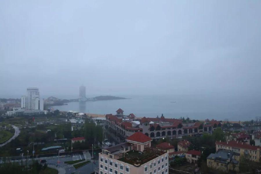 这就是今天的黄海!
