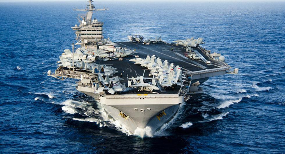 3年来首次!美国在地中海同时部署双航母战斗群