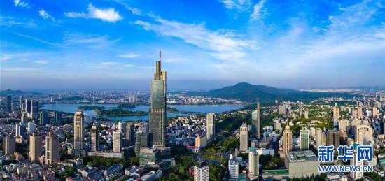 天空之眼瞰南京