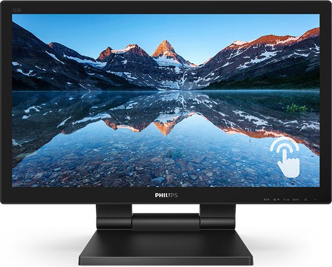 飞利浦推出21.5英寸商用触控显示器新品222B9T
