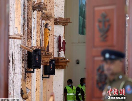 外媒:美印曾警告斯里兰卡政府 教堂可能遇袭