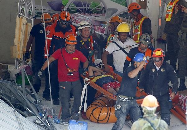 菲律宾强震已致11死81伤 另有24人失踪