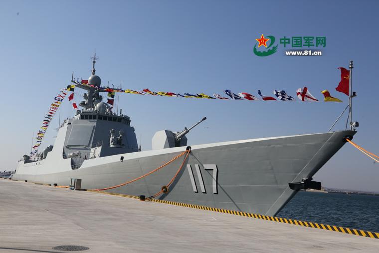 检阅舰为何选西宁舰?052D将是数量最多主力大驱
