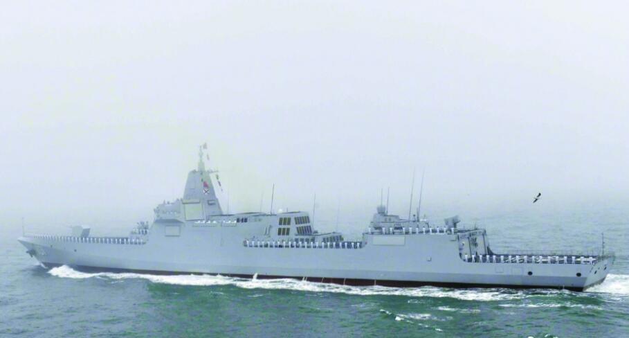 055型南昌艦或加入遼寧艦編隊 101號意義特殊