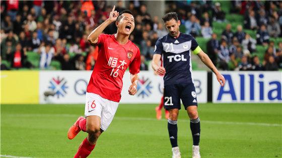 亚冠小组赛:墨尔本胜利1-1恒大