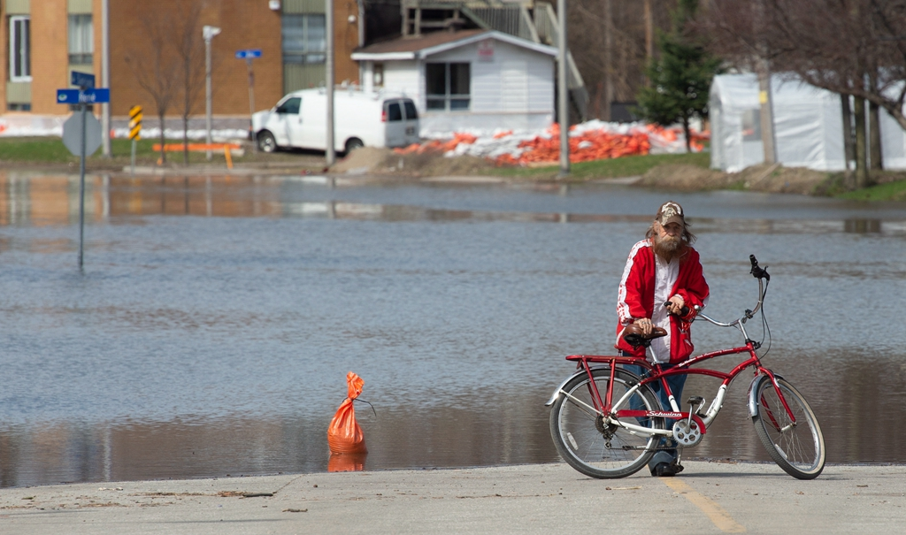 加拿大东部多省发生水灾 逾千人紧急疏散