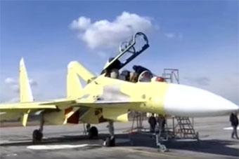 缅甸首架苏-30SME战斗机亮相 将于明年服役