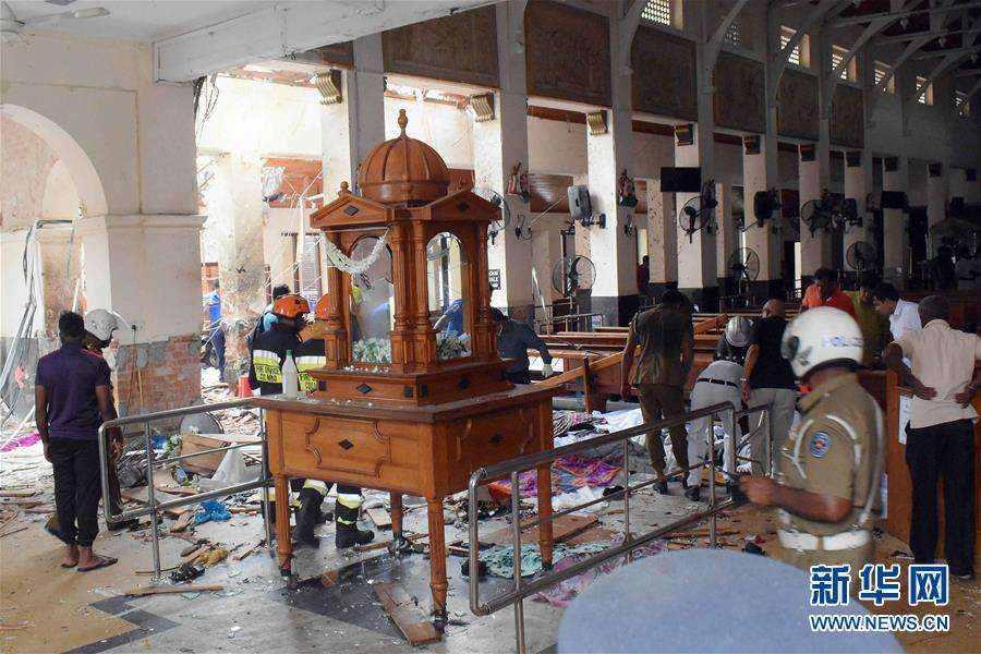 斯里兰卡爆炸死亡人数升至359人 安全部门负责人全被撤