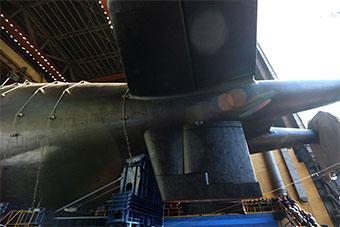 真来了!俄最新潜艇正式下水 可搭载核动力鱼雷