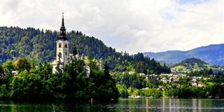 """""""阿尔卑斯的眼泪""""——斯洛文尼亚·布莱德湖"""
