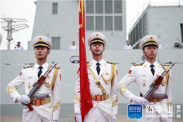 奏响新时代海上和平乐章--人民海军成立70周年海上阅兵活动纪实