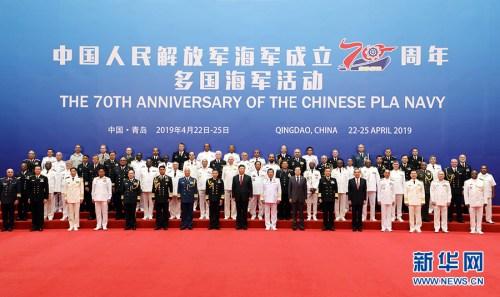 华侨华人:我们期待人民海军作出新的贡献