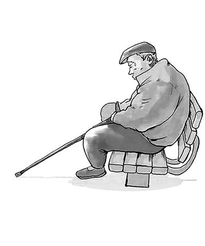 55岁以上老人需警惕抑郁症