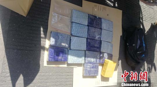 四川越西警方成功破获一宗毒品案 缴获毒品海洛因5980.42克