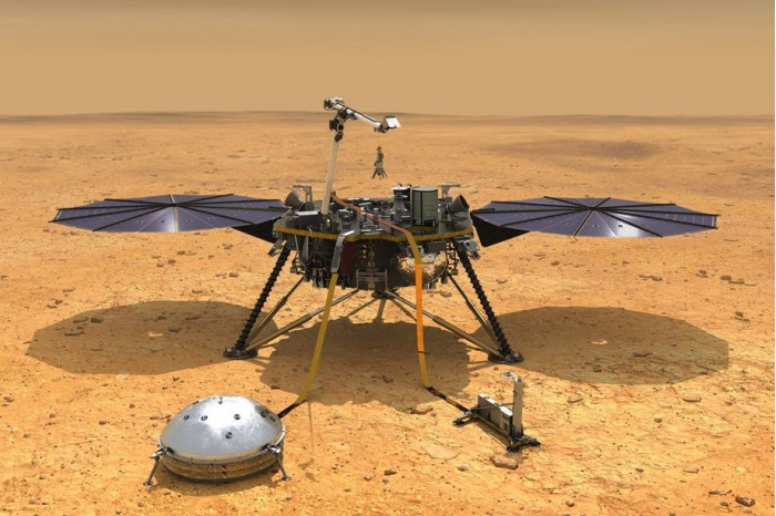 NASA洞察号疑似首次在火星上检测到地震