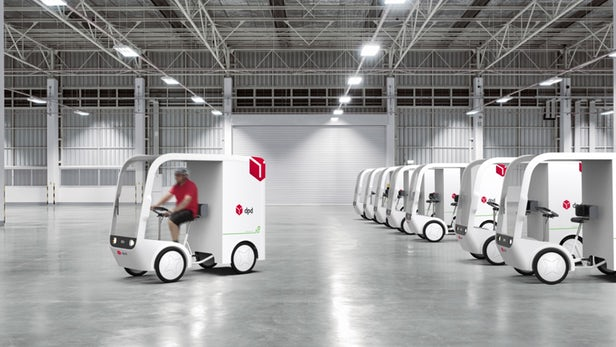 英国DPD将使用电动辅助四轮车递送货物