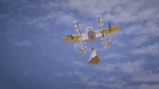 """无人机配送在美国正式""""起飞"""""""