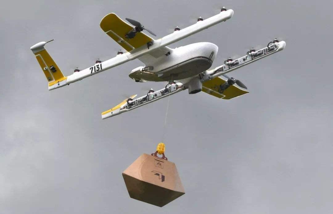 """无人机配送在美正式""""起飞"""""""
