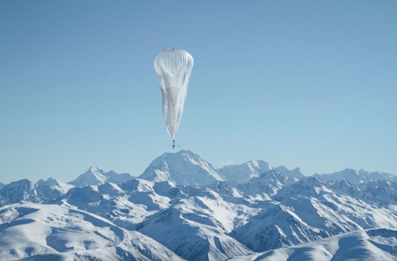软银将向谷歌热气球上网计划投资1.25亿美元