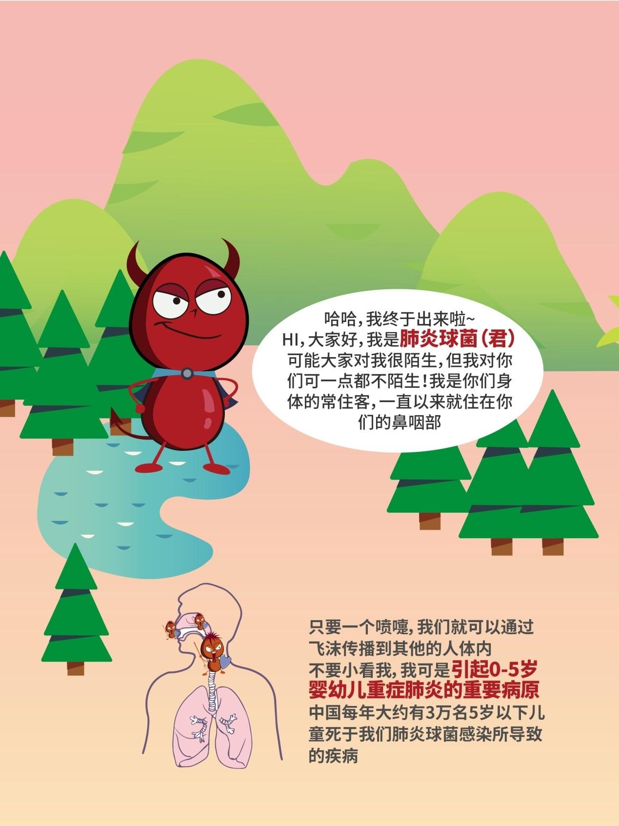 肺炎球菌在全国儿童预防接种宣传日的告白书