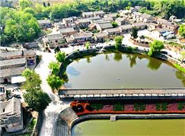 鸟瞰麻城600年古村落