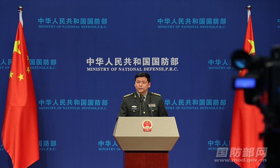 解放军对台开展针对性军事训练?国防部:民进党当局挑动两岸对立