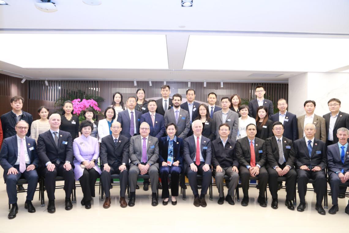 《一带一路服务机制北京倡议》在京发布